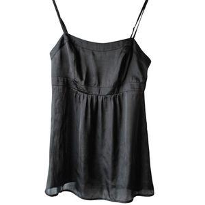 CAbi Empire Waist Black Cami Blouse Style #102 14